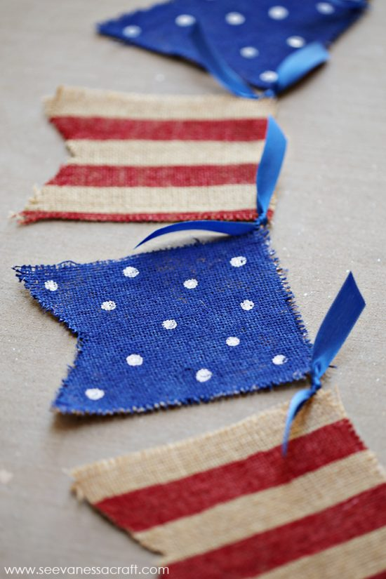 4th of July DIY banner