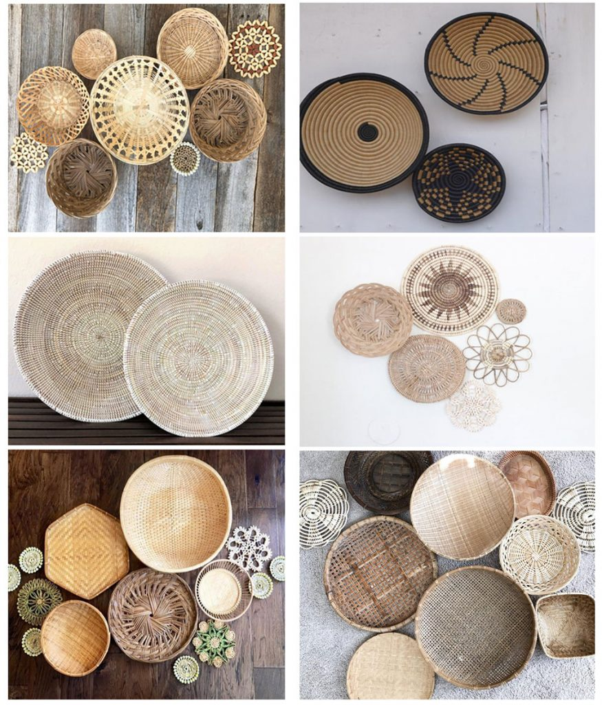 where to buy sets of baskets to hang on the wall