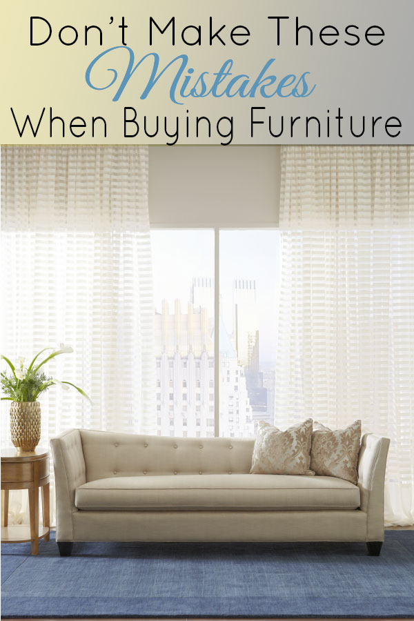 10 Things you shouldn't do when buying furniture! #ad @CORToutlet