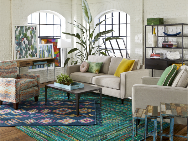 Living room furniture from CORT