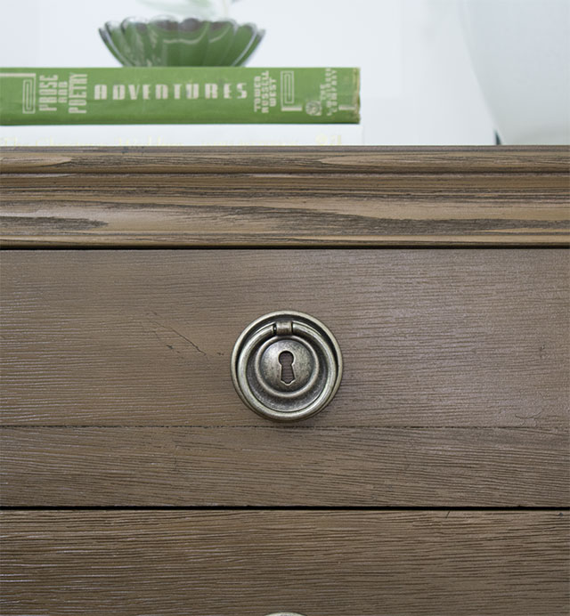 key hole drawer pulls