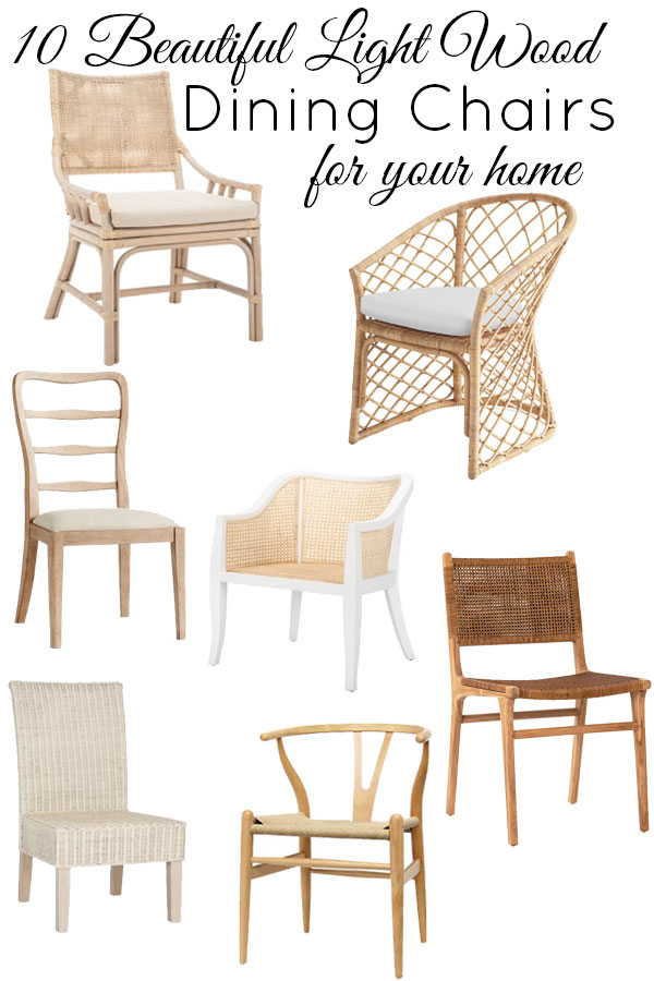 10 Beautiful light wood dining chairs that are trending but will stand the test of time