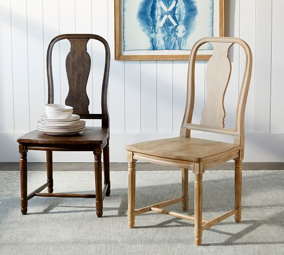Modern Queen Anne style dining chair