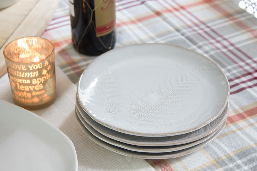 neutral plates for fall