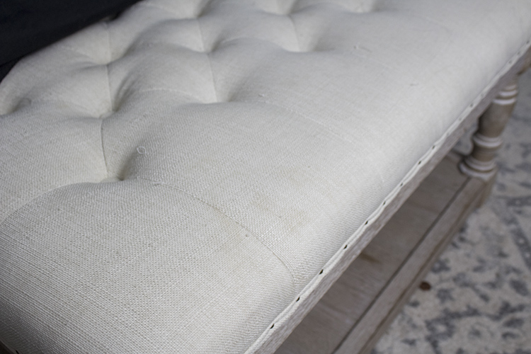 removing stains from furniture
