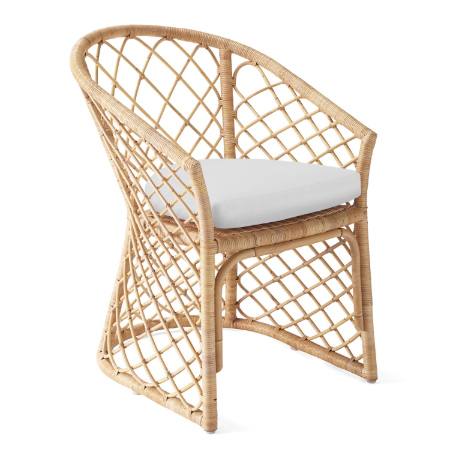 handwoven rattan furniture