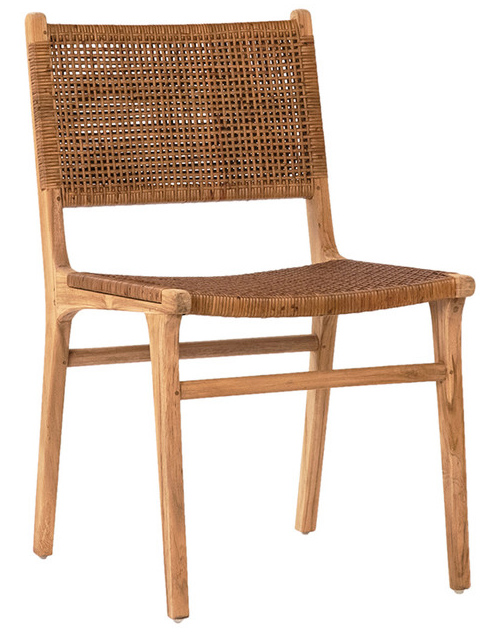 teak and cane furniture