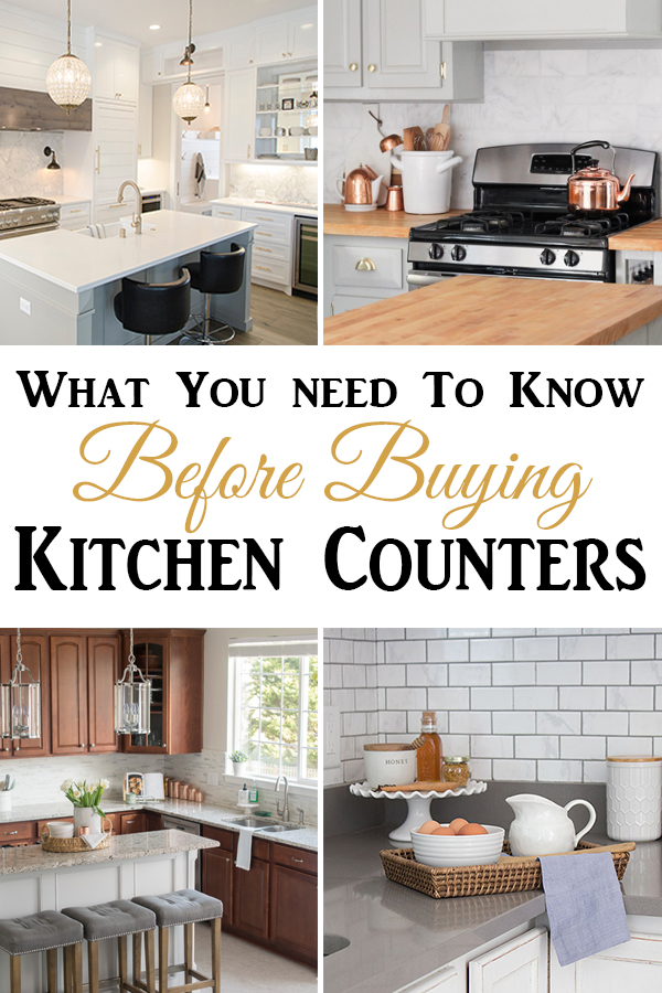 Everything you need to know about buying kitchen countertops with feedback from people who own them.