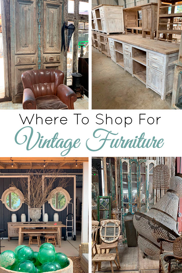 The best places to shop for vintage furniture!