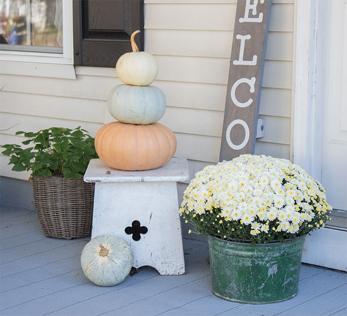pretty decorating ideas for small front porches