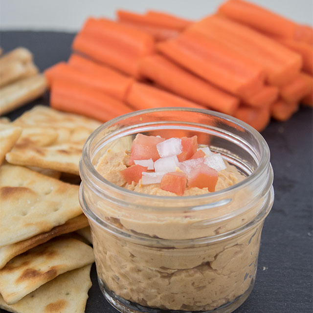 sun dried tomato hummus recipe, easy