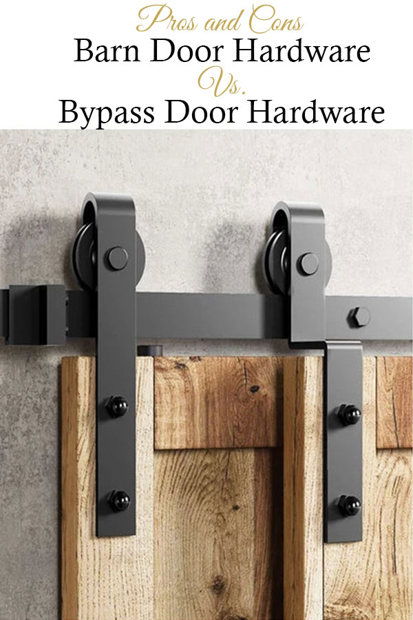 Barn door hardware versus bypass door hardware, which one is better for you?