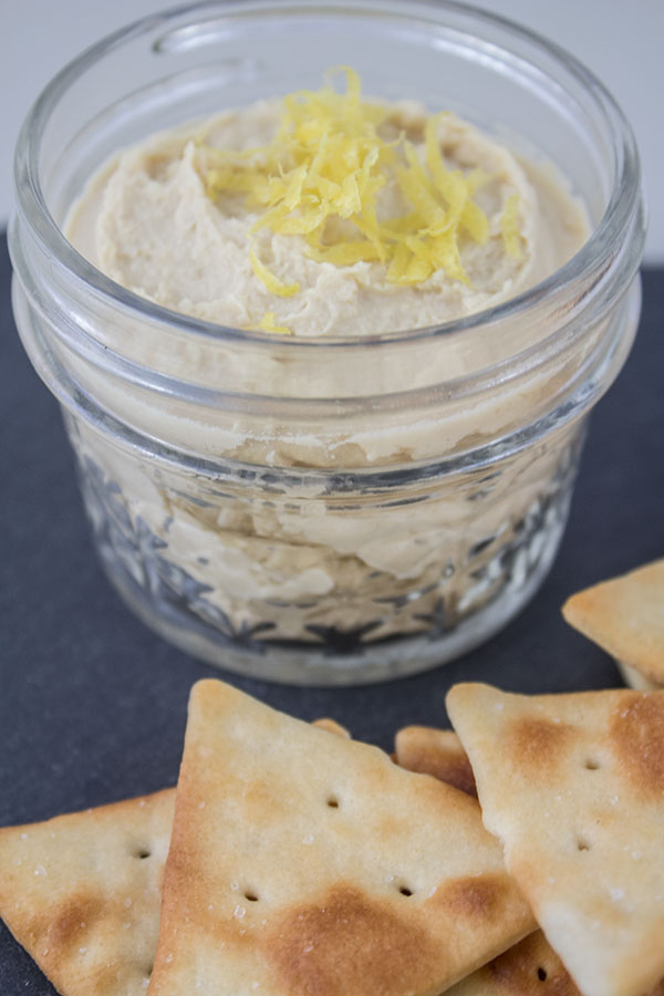 Delicious Lemon hummus recipe, appetizer ideas