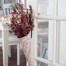 flower cone door hangers