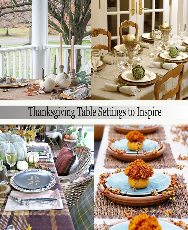 Set your Thanksgiving table in style with these beautiful table setting ideas!