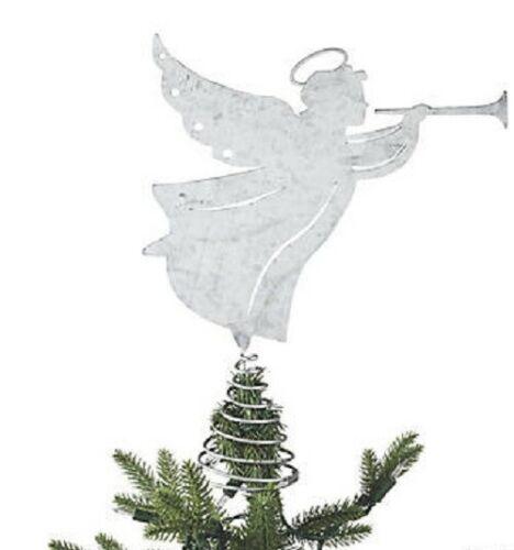 metal angel tree topper