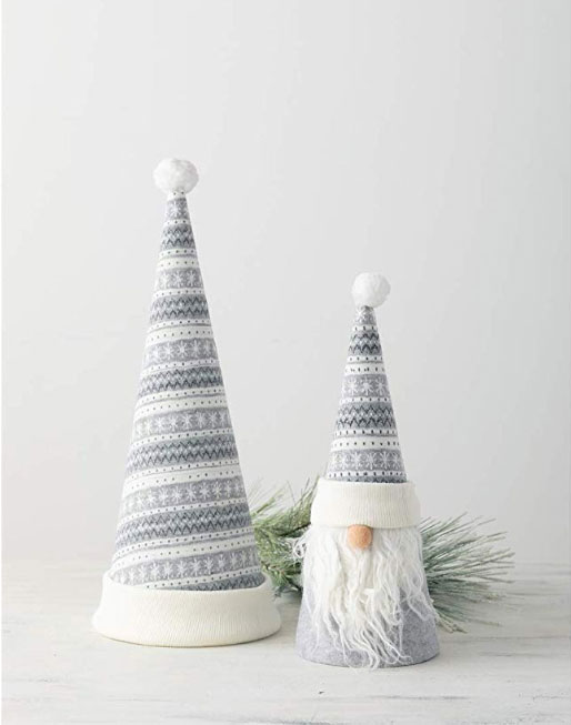 Nordic gnome tree topper