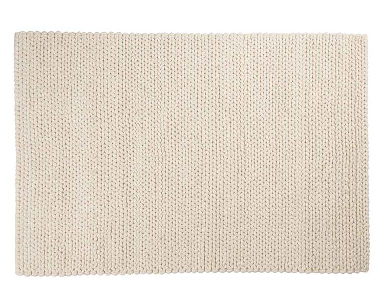 hand braided wool rug
