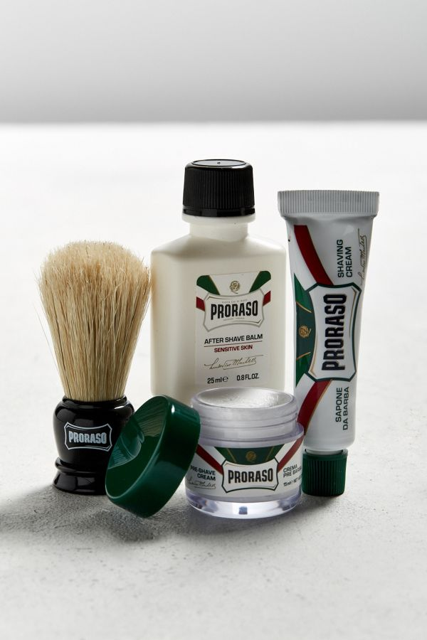 travel size shaving kit for men