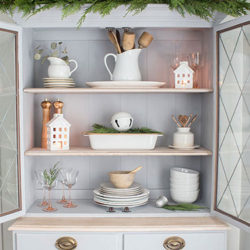FI-decorating with vintage Christmas finds