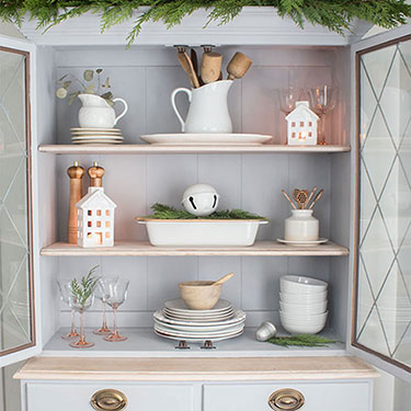 Decorating With Vintage Christmas Finds