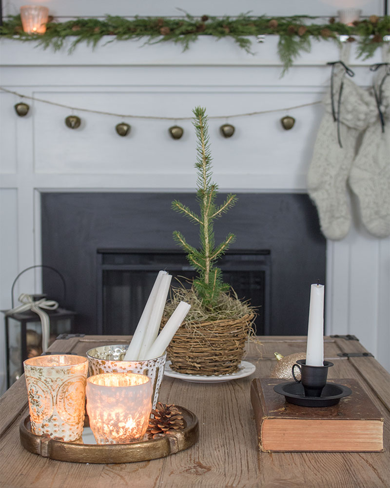 coffee table styling - vignette ideas home