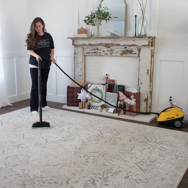 how to clean carpets yourself at home
