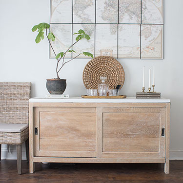 How to Remove Glue From Wood (Sideboard Makeover)