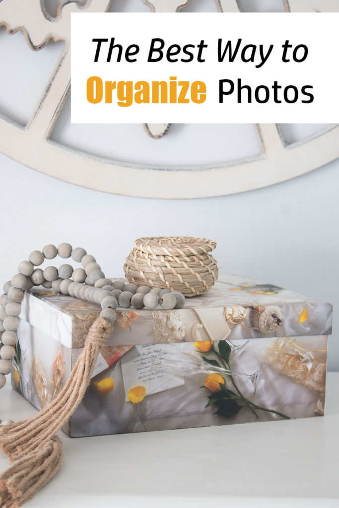 The best way to organize photos, and save space!