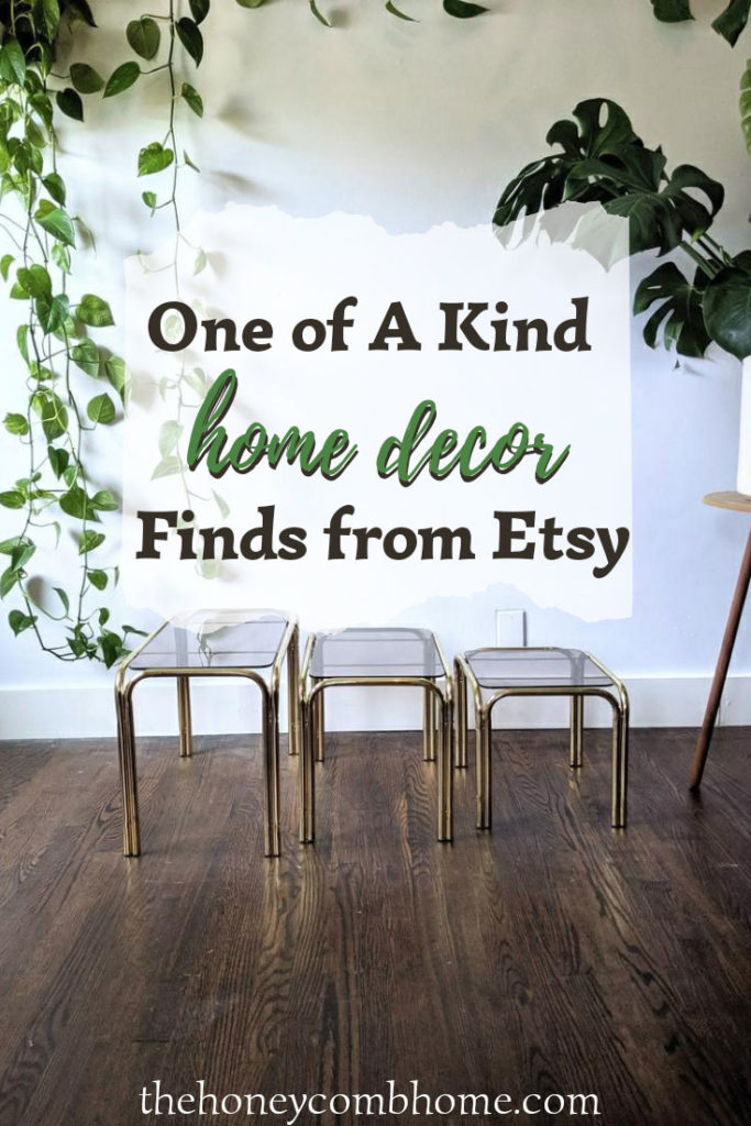 Shop Etsy home decor one-of-a-kind picks, but hurry because these unique finds won't last!