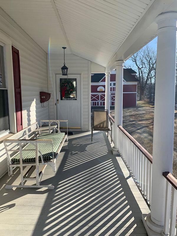 farmhouse wraparound porch