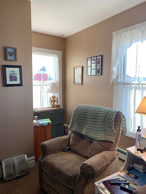 living room nook