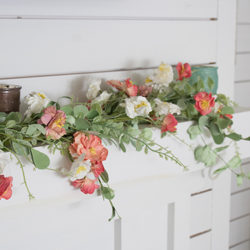 FI simple spring mantel