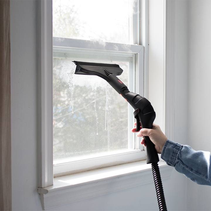 easiest way to clean windows
