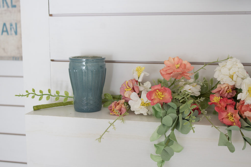 spring and summer mantel