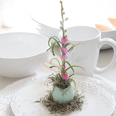 Easy Easter Egg Flower Craft