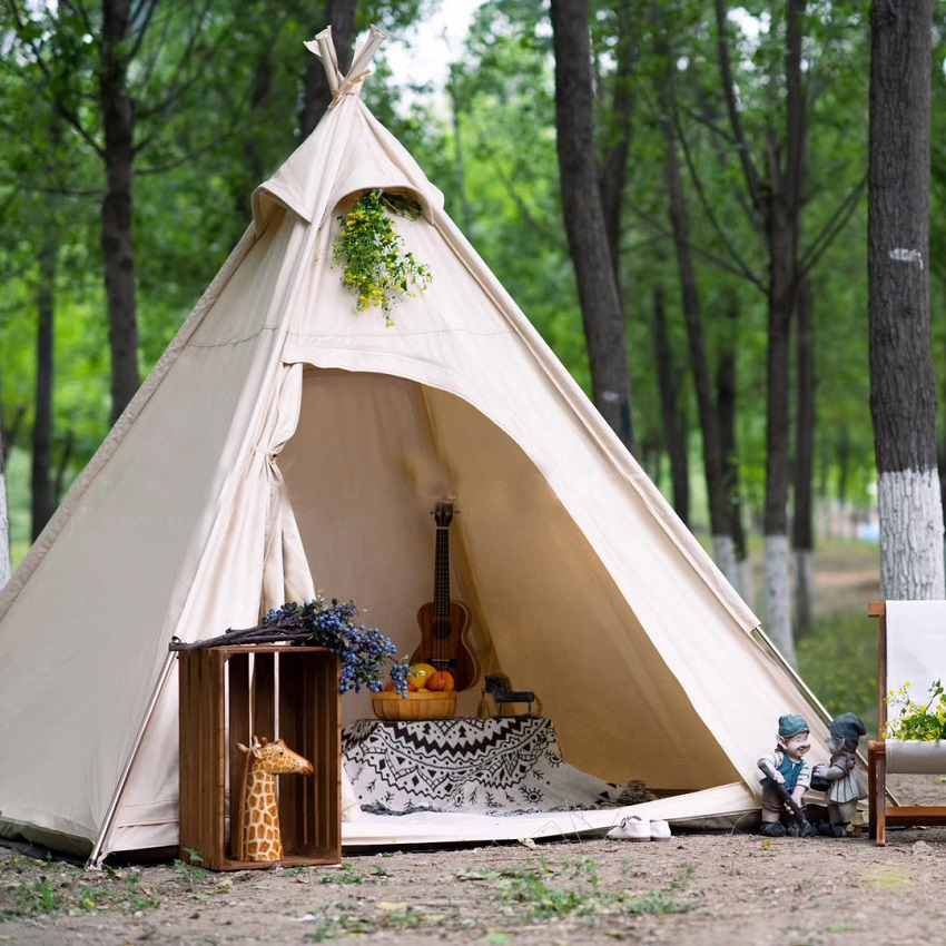 backyard teepee tent backyard camping