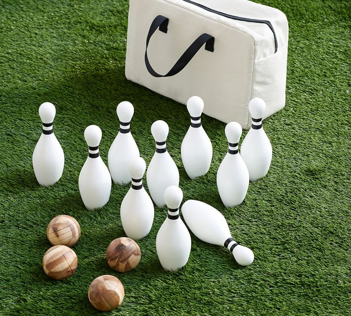 outdoor bowling game set
