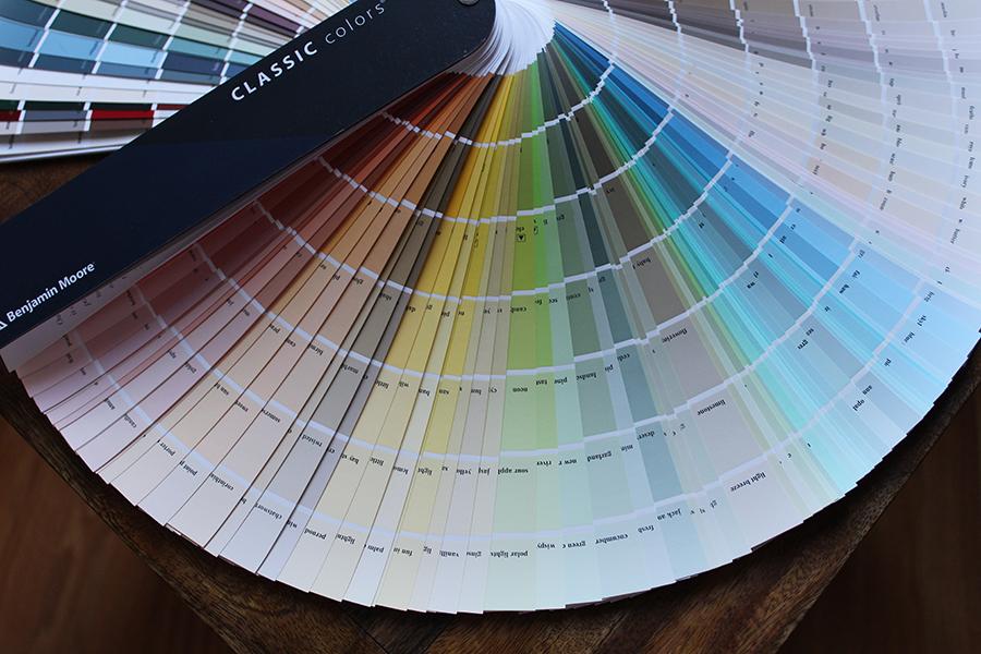 paint fan deck interior paint color schemes