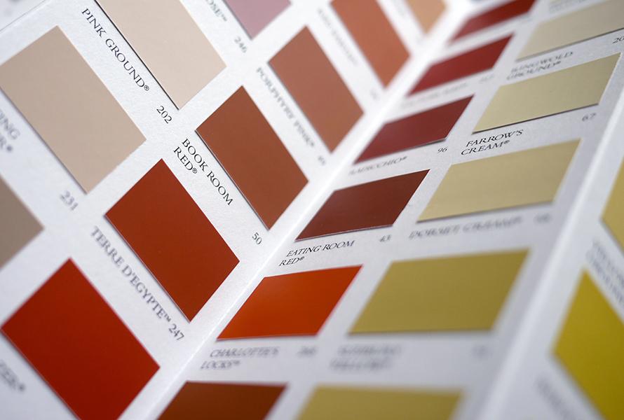 warm paint colors vs cool paint colors