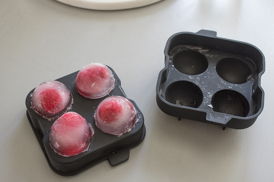 round ice cube trays