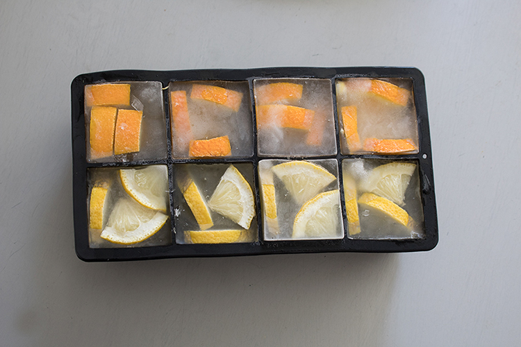 ice cube trays large square for fruit flavored ice