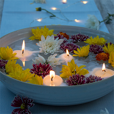 How To Make Floating Candles With Citronella