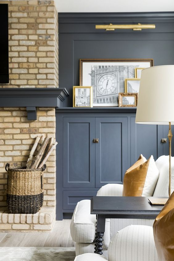 cool black paint colors interior, french beret