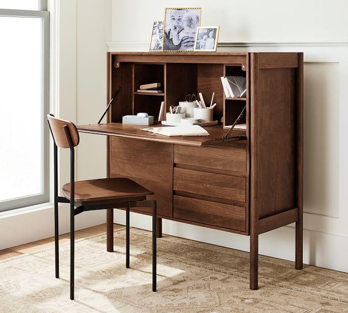 vintage look secretary desk, caring for furniture