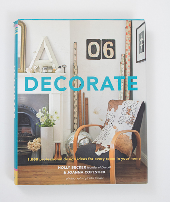 Decorate, interior design, inspiring home decor books