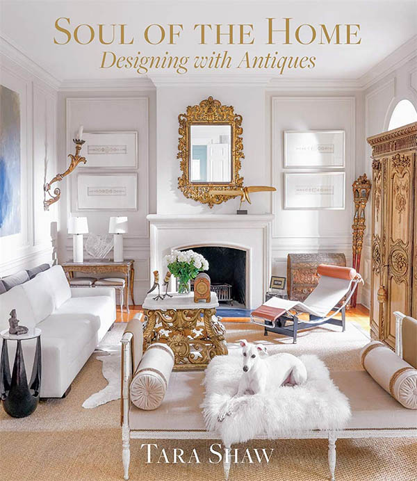 decorating with antiques design book
