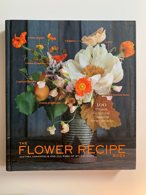 The Flower recipe book - top ten garden and home decor books for inspiration