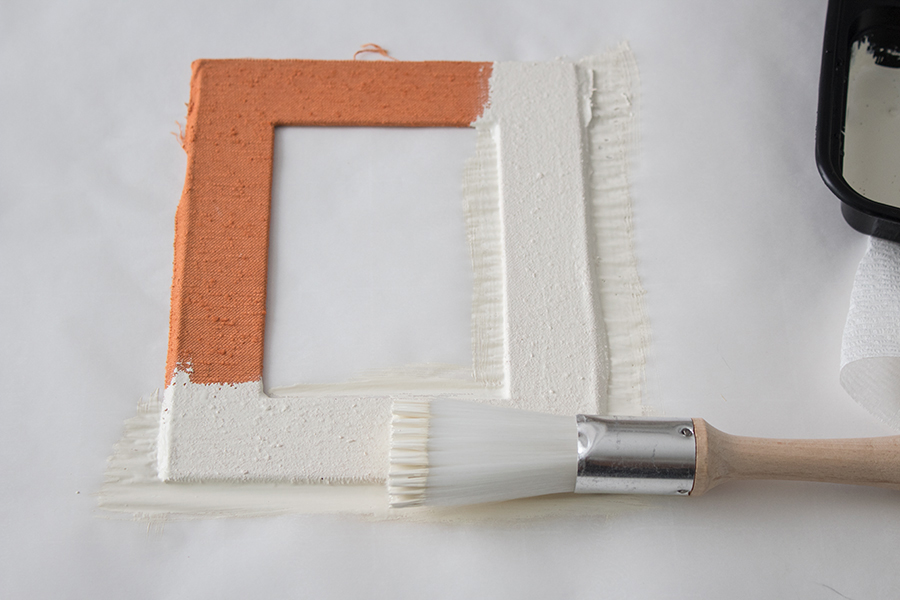 how to paint picture frames shabby chic
