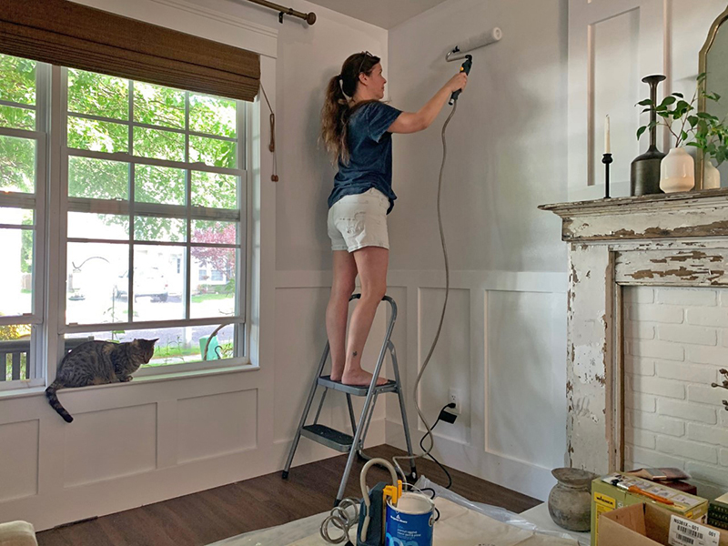 paint roller tools, how to paint a living room